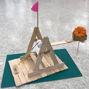 Mini-Pumpkin Launcher