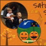 Saturday Song Circle: Five Little Pumpkins