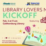 Library Lovers Month Kickoff