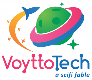 Voytto Tech: a scifi fable, Wheaton Family Theatre...