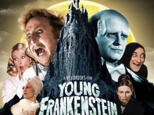 "Mel Brooks' comedy ""Young Frankenstein,"" will be screened at a Halloween Film & Brew Party on Oct. 19 at the Arts Barn in Gaithersburg."