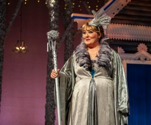 "Tracy Lynn Olivera as the Fairy Godmother in ""Cinderella"" at Imagination Stage."