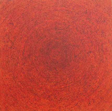 """Shanthi Chandrasekar says that her """"Chakra"""" series is a search for something beyond our perception."""