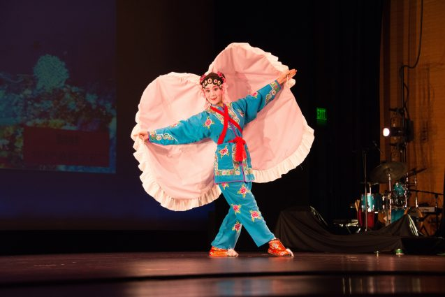 DC Beauty of Beijing Opera performed the oyster dance during the Executive's Awards ceremony.