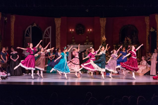 "Rockville Civic Ballet will perform six shows of ""The Nutcracker"" at the F. Scott Fitzgerald Theatre."