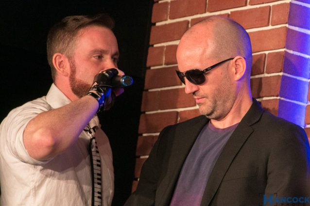 """Justin Schlegel and Sean Gabbert will be in """"Smooth Criminal"""" at AMP on Saturday."""