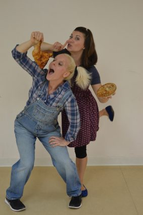 The history and customs of Thanksgiving take center stage when VF Dance Theater's Veronika Farkas and Amanda Mendez perform.