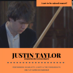 HARPSICHORD CONCERT: Justin Taylor Performs Scarlatti, Ligeti & the Forquerays