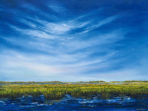 """Claire Howard's """"The Tide Is In,"""" Countryside Artisans"""