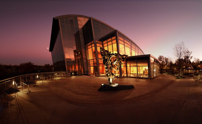 The Music Center at Strathmore: opened in 2005, this stunning structure was inspired by the rolling hills on which it was built.