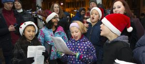 Caroling in the Kentlands & Lakelands