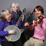 Cathy Fink, Marcy Marxer, and Sam Gleaves