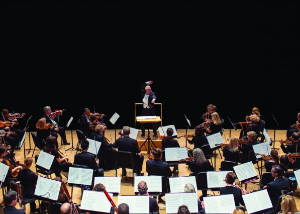 Piotr Gajewski conducts the National Philharmonic at the Music Center at Strathmore.