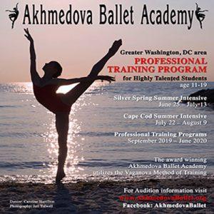 Akhmedova Ballet Academy Summer Intensive 2019