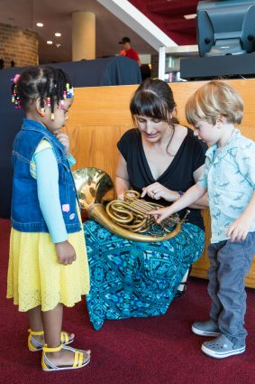 The BSO's Music Box Concerts are performed in smaller, more casual settings.
