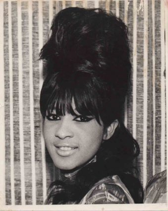 In the beginning: Ronnie Spector, 1964.