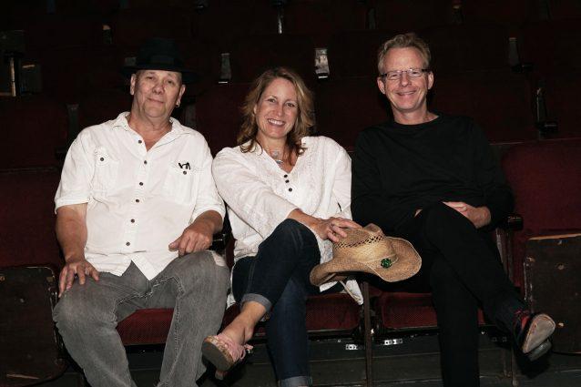 The Meghan Cary Trio: From left, Bob Beach, Meghan Cary and Peter Farrell