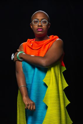 Grammy winner Cécile McLorin Salvant is the vocalist for the Monterey Jazz Festival on Tour ensemble.
