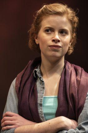 """Baghdad, 2021: Megan Graves as Amy in """"Oil."""""""