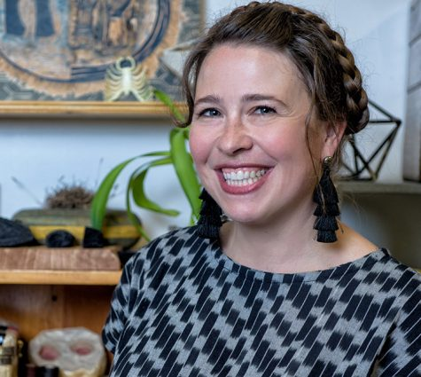 Printmaker, papermaker and sculptor Gretchen Schermerhorn also serves as artistic director of Pyramid Atlantic in Hyattsville.