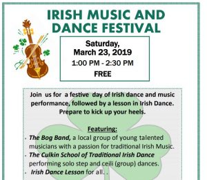 Irish Heritage Music and Dance Festival