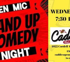 Comedy Night at Caddies!