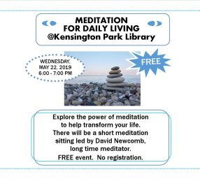 Meditation for Daily Living