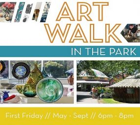 May Art Walk in the Park
