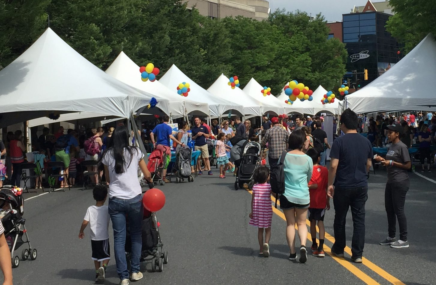 The 25th annual Imagination Bethesda is a children's street festival that celebrates children and the arts.