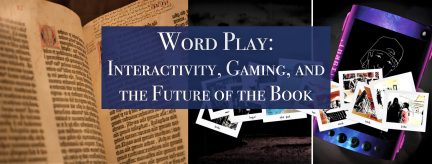 Word Play: The Future of the Book Lecture by John ...