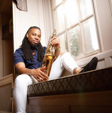 Artist in Residence Workshop Trey Sorrells, jazz saxophonist