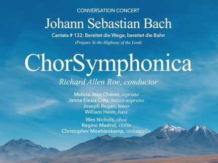 """Conversation Concert with Bach's Cantata """"Bereitet..."""