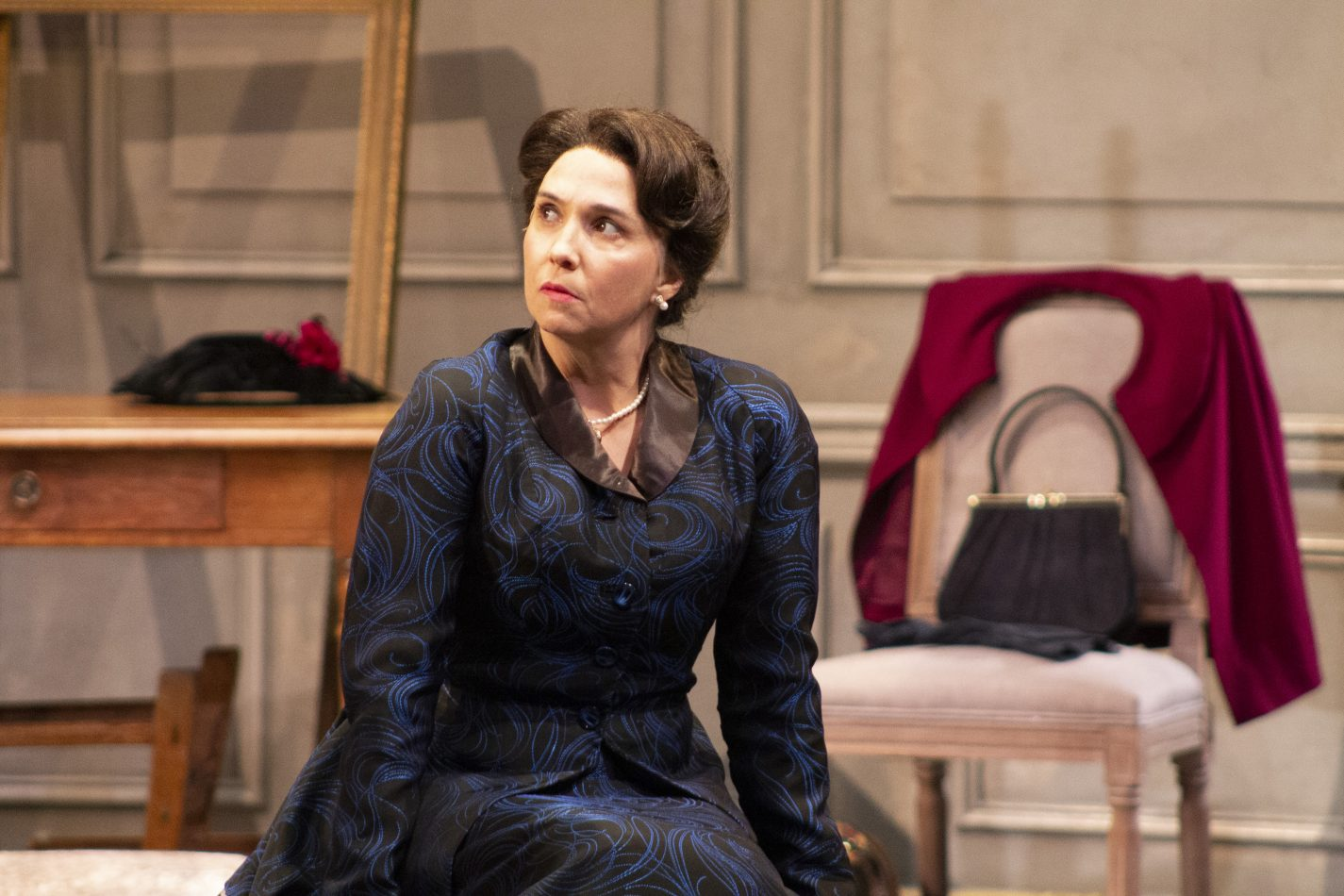"Holly Twyford as Nora in ""A Doll's House, Part 2"" at Round House Theatre."