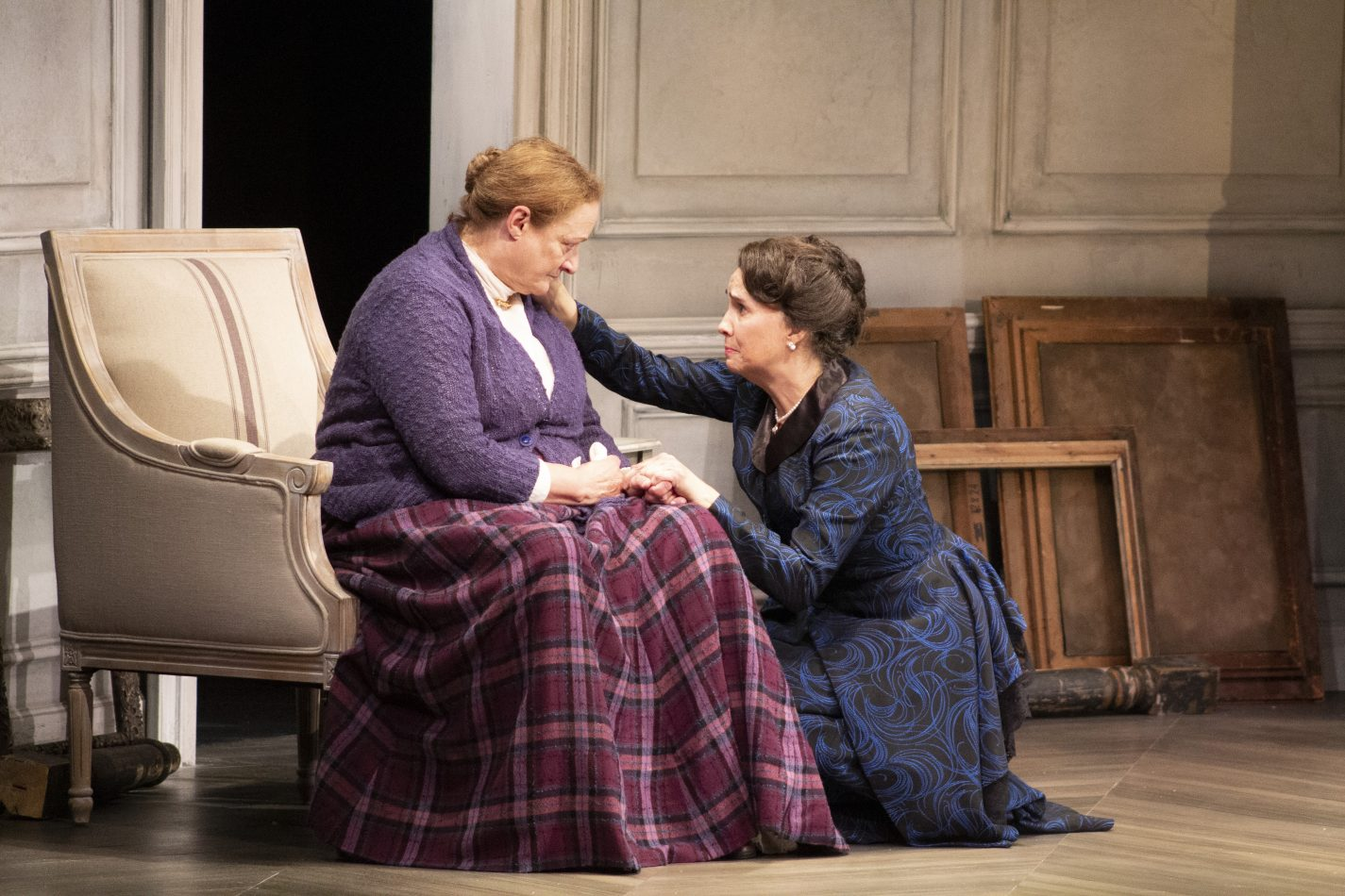 "Nancy Robinette (Anne Marie) and Holly Twyford (Nora) in ""A Doll's House, Part 2."""