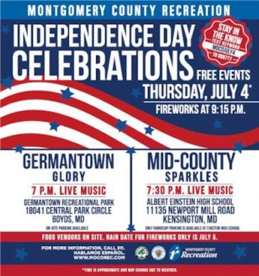 Independence Day Celebrations: Germantown and Kensington