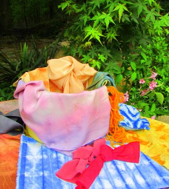 Two-Day Natural Dye Workshop: Bundle Dyeing and Indigo
