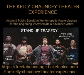 THE KELLY CHAUNCEY THEATER EXPERIENCE