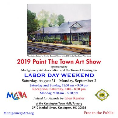 "Kensington ""Paint the Town"" Labor Day Weekend Art Show"
