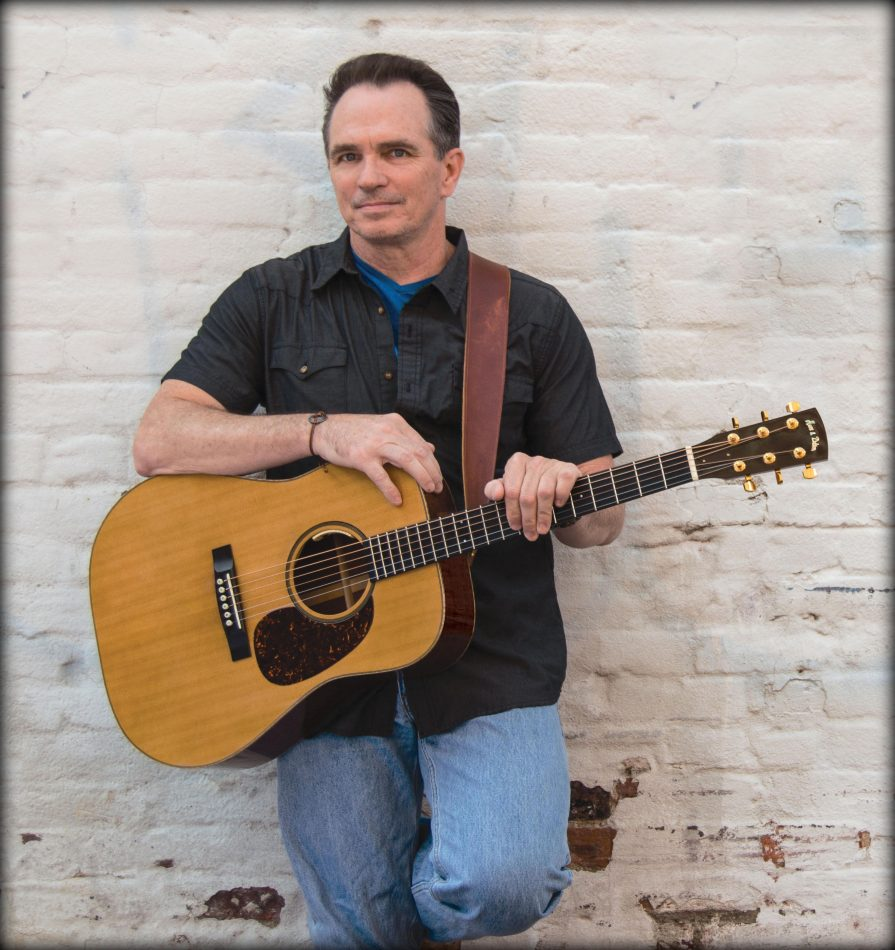 Army veteran and Oklahoma native Mike P. Ryan, Mid Atlantic Song Contest Grand Prize winner and Gold winner, Folk/Acoustic.