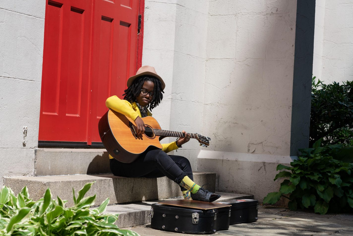 Gold-winning instrumentalist Yasmin Williams.
