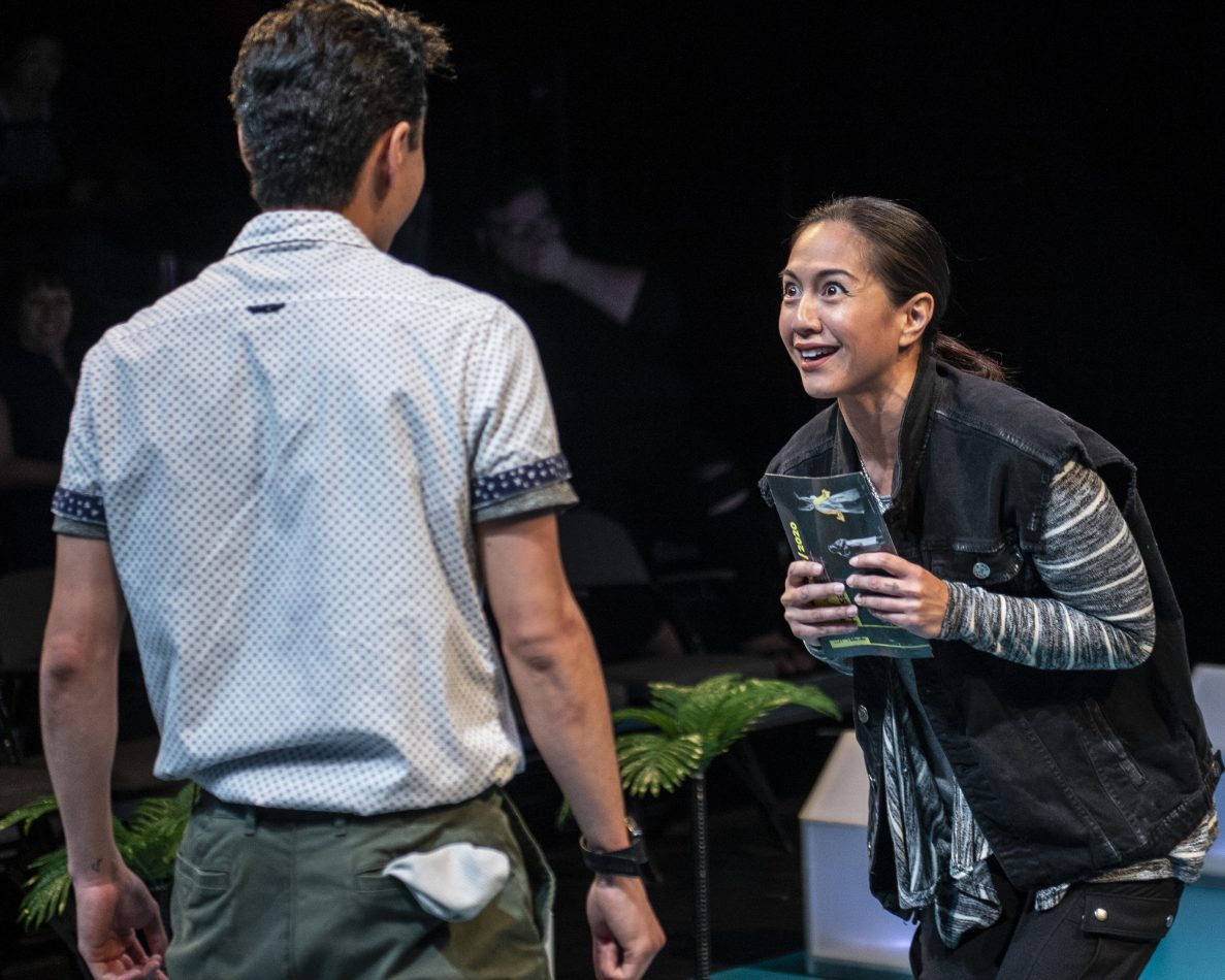 Asian-American actors Sean Sekino and Regina Aquino play an all-American family working through joys, sorrows and questions of identity.