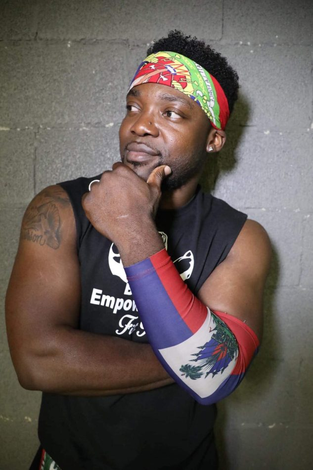 "Gaithersburg-based Zumba instructor Socrate ""DJ Fuego"" Pierre will be among the dancers leading the FitXperience."