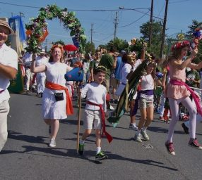 March with Revels on Labor Day