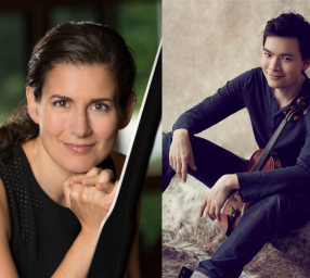 STEFAN JACKIW & ANNA POLONSKY, Violin + Piano