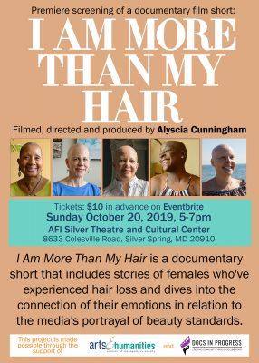 "Premiere Film Screening: ""I Am More Than My Hair"""