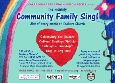 October Family Community Sing!
