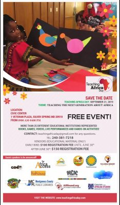 Teaching Africa Day