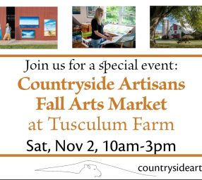 Countryside Artisans Fall Arts Market at Tusculum Farm