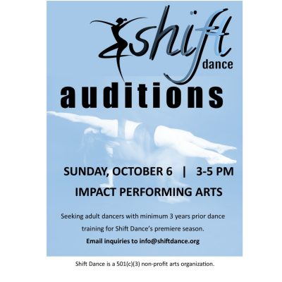 Shift Dance Auditions