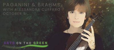 Paganini & Brahms with Alessandra Cuffaro